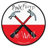 Pink Floyd Hammers Woven Patch Heavy