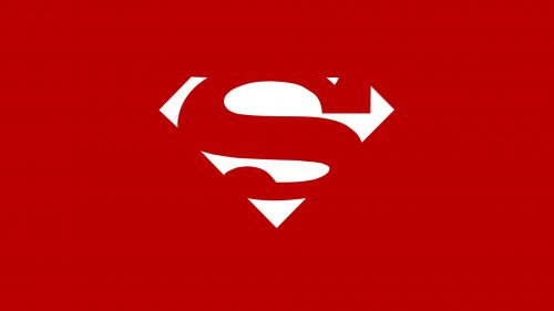 Red White Superman Logo