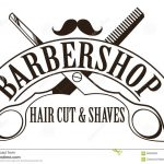 Result Barber Shop Logo Barbas Pinterest
