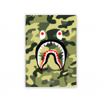 Rhys Designs Bape Shark Green