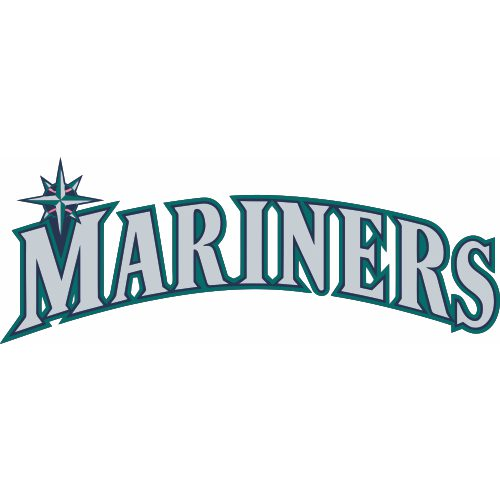 Seattle Mariners Script Logo Light Iron Stickers Heat Transfers Version Model Hts