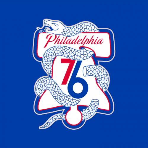 Sixers Unveil New Snake Playoff Logo