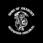 Sons Anarchy Logo Redwood