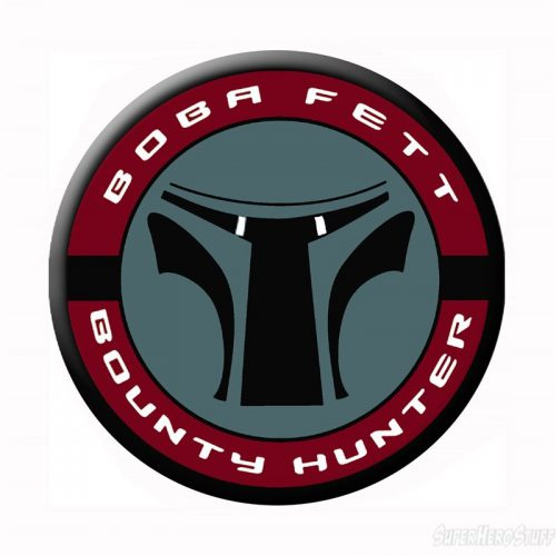 Star Wars Boba Fett Mask Logo