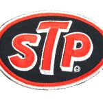 Stp Oil Patches Sports Car Logo Formula Racing