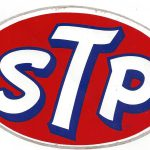 Stp Racing Decal Sticker Inches Long Vintage Crashdaddy