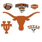 Texas Longhorns Logo Giant Officially Licensed Removable Wall Decal Shop