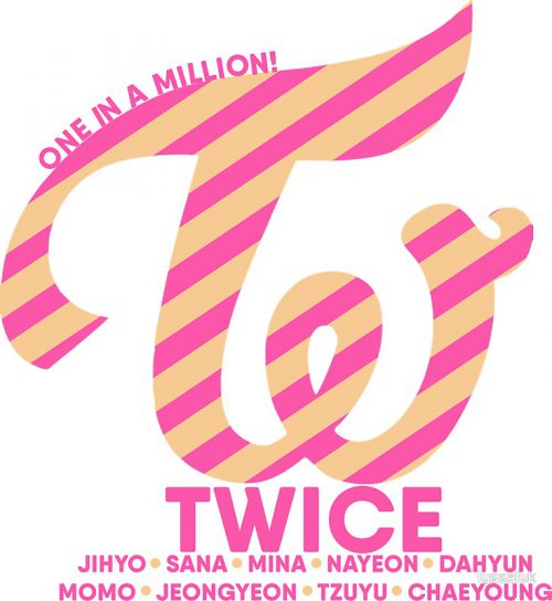 Twice Logo Stickers Lyssaluk