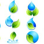 Water Logo Design Vector Commercial Format