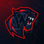 Webspelltemplates Webspell Templatesvector Panther Esports Logo Gaming