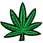 Weed Plant Logo Clipart